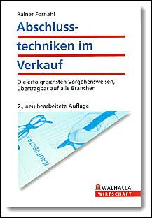 Buch Abschlusstechniken im Verkauf